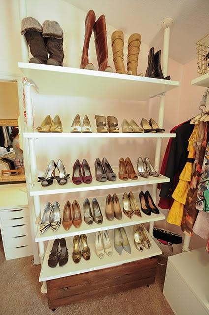 Ikea Shoe Shelf Contemporary Closet Style Society