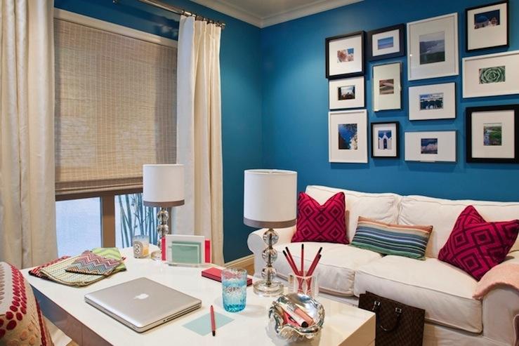 Office Sofa - Contemporary - den/library/office - Emily Ruddo