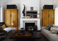 Living Room Armoires - Transitional - living room - Hare ...