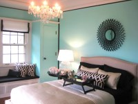Tiffany Blue Paint Color - Transitional - bedroom ...