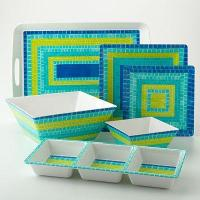 Bobby Flay Blue Mosaic Collection