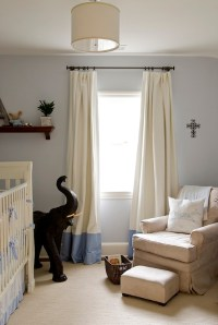 Banded Drapes Design Ideas