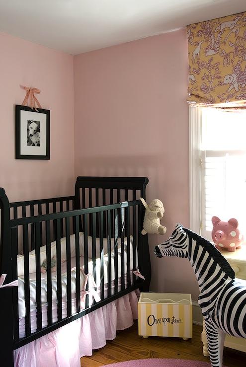 Wallpaper Ideas For Baby Girl Nursery Black Nursery Crib Transitional Nursery Finnian S