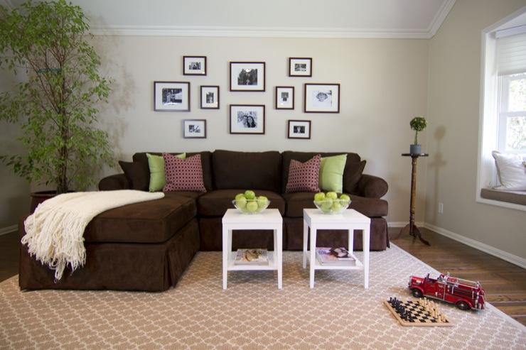 Brown Sofa Design Ideas - living room ideas brown sofa