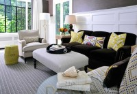 Accent color for brown living room? - BabyCenter