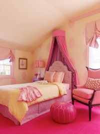 Little Girl's Pink Room - Transitional - girl's room ...