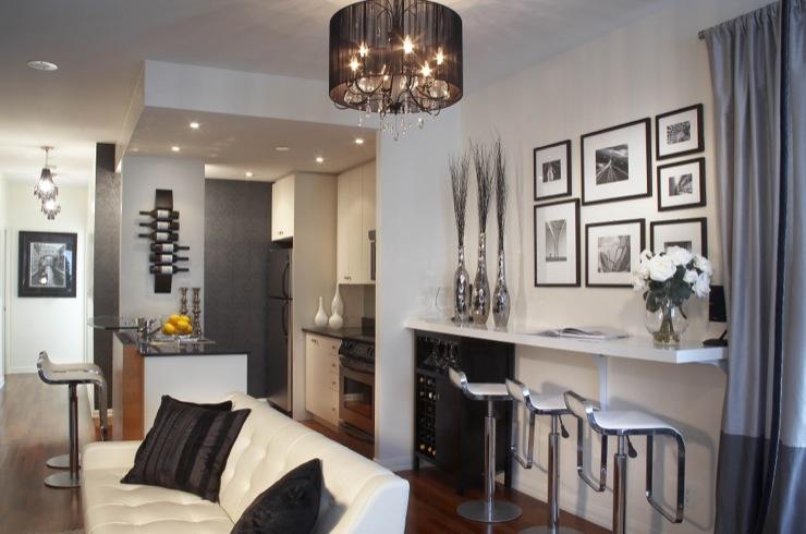 Leather Bar Stools Design Ideas - living room bar furniture