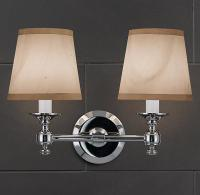 Campaign Double Sconce - Bath Sconces - Restoration Hardware