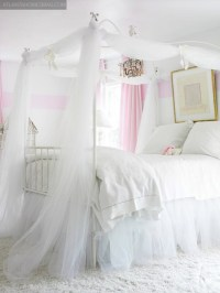 GIRLS CANOPY BEDDING SETS