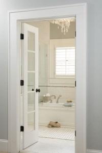 Bathroom French Doors Design Ideas