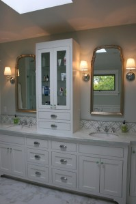 Bathroom Countertop Storage Cabinets With Luxury ...