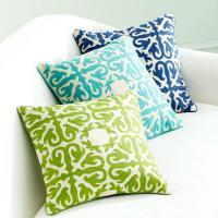Moroccan Pillow - Palm Green - Pillows & Cushions - Wisteria