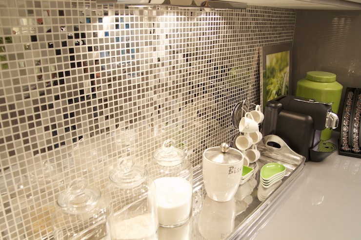 Contemporary Backsplash Tiles Contemporary Kitchen