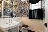 damask wallpaper bathroom 2017 - Grasscloth Wallpaper