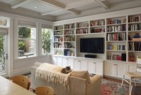 Built In Living Room - Cabinets - Traditional - living ...