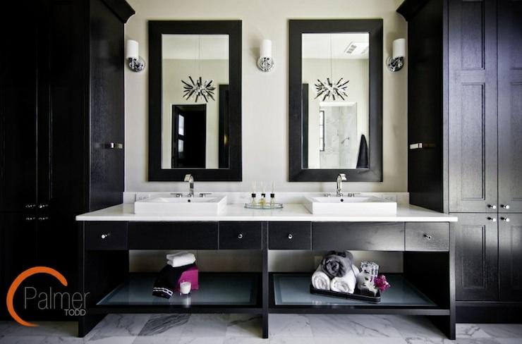 Double Vanity Ideas Contemporary Bathroom Palmer Todd