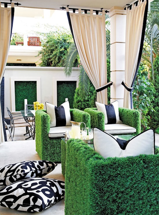 Faux grass chairs contemporary deck patio traditional home