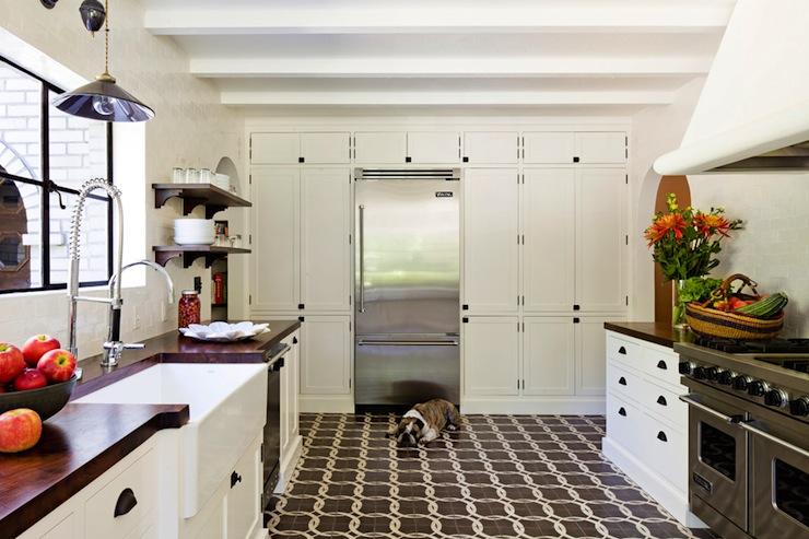 Floor To Ceiling Kitchen Cabinets Vintage Kitchen