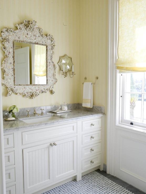 White beadboard cabinets cottage bedroom phoebe howard