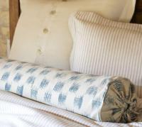 Ikat Bolster Pillow Cover - Pottery Barn