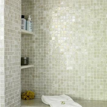 Black iridescent tiles design ideas
