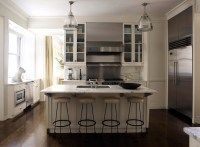 Beige Kitchen Cabinets - Contemporary - kitchen - David ...