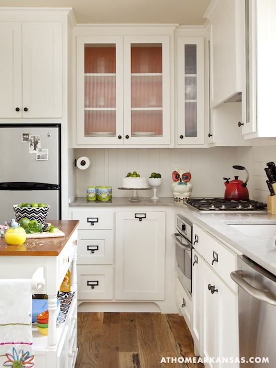 White Shaker Doors For Kitchen Cabinets With Oak Trim Beadboard Kitchen Island Design Ideas