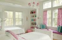 Built In Window Seat - Transitional - girl's room - Liz ...