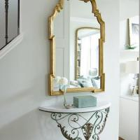 Wall Mounted Console Table - Eclectic - entrance/foyer