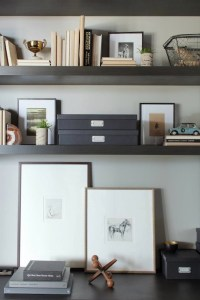 Office Shelves - Contemporary - den/library/office - Kelly ...