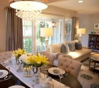 Open Floor Plan Dining Room - Transitional - dining room ...
