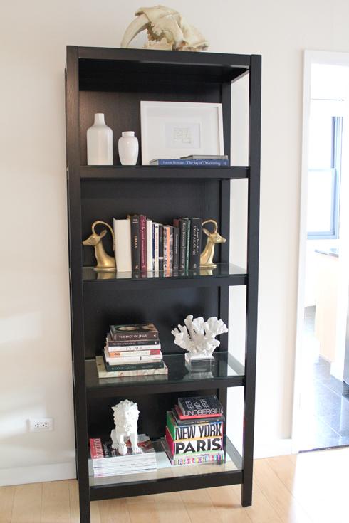 Black Bookcase Design Ideas