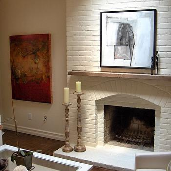 How To Style A Fireplace French Living Room Decor De