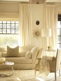 Monochromatic Living Room - Transitional - living room ...
