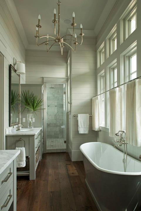 Double Crown Molding Gray Green Bathroom Paint Color Design Ideas