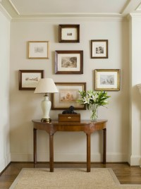 Demilune Console Table - Traditional - entrance/foyer ...