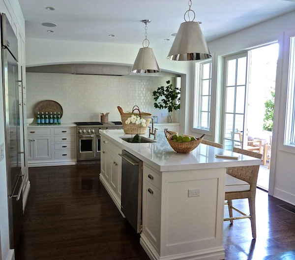 Over The Sink Lighting Kitchen Island Dishwasher - Transitional - Kitchen - Lynn