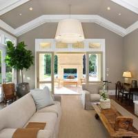 Monochromatic Living Room Design Ideas