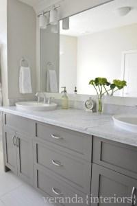 Gray Bathroom Vanities - Contemporary - bathroom - Veranda ...