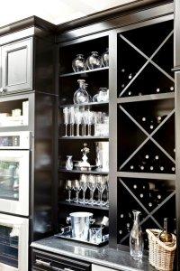 Built In Kitchen Wine Racks Design Ideas