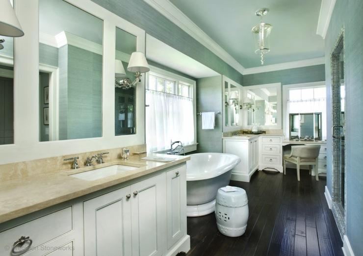 Pinterest Girls Kids Rooms With Wood Wallpaper Blue Grasscloth Wallpaper Transitional Bathroom