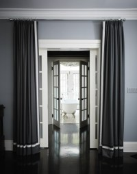 Gray Drapes Design Ideas