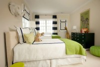 Blue, Green and Tan Boys' Bedroom - Contemporary - boy's ...
