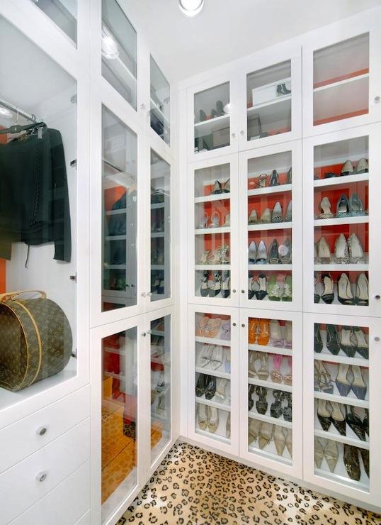 Girl In Hat Wallpaper Shoe Cabinet Contemporary Closet Jamie Herzlinger