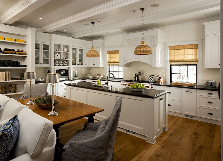 Different Types Of Kitchen Islands Open Floor Plan Kitchen - Cottage - Kitchen - Vallone Design