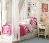 Allie Iron Bed & Canopy - Pottery Barn Kids