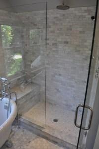 Carrara Marble - Contemporary - bathroom - Murphy & Co. Design