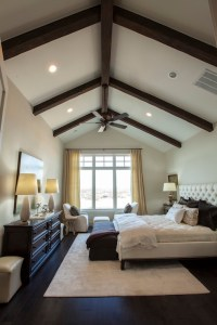 Exposed Wood Beams - Transitional - bedroom - Southern Living