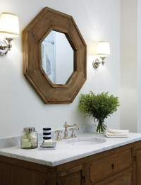 Octagonal Mirror - Traditional - bathroom - Para Paints ...
