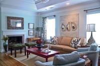 Traditional Country Inspired Living Room